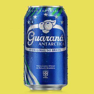 Latas Guarana Copa Arnold Azul Grande Flat 2 Ex